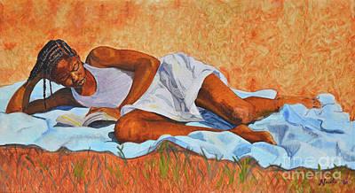 Painting - Keisha by Nicole Minnis