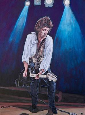 Painting - Keith Richards by Tom Roderick