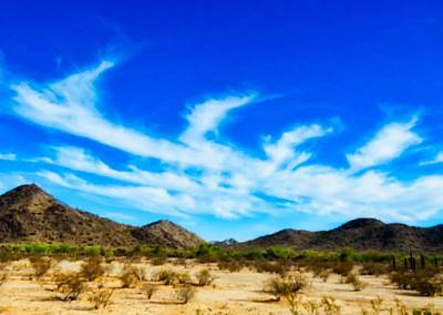Photograph - Kelvin-helmholtz Clouds Over The Sonoran Desert by Judy Kennedy