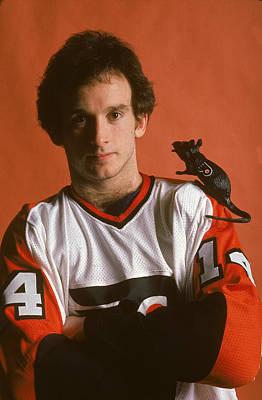 Photograph - Ken Linseman Of The Flyers by B Bennett