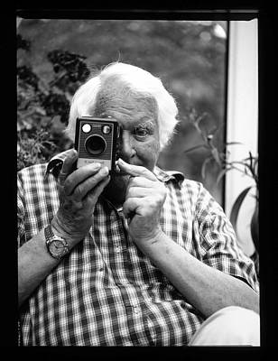 Photograph - Ken Russell by Martyn Goodacre