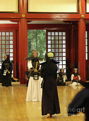 Kendo Wall Art - Photograph -  Kendo by PTW Edutainment