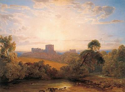 Drawing - Kenilworth Castle by Peter De Wint
