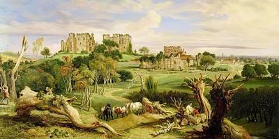 Kenilworth Castle Wall Art - Painting - Kenilworth Castle  Warwickshire  1840 Wall Art by James Ward