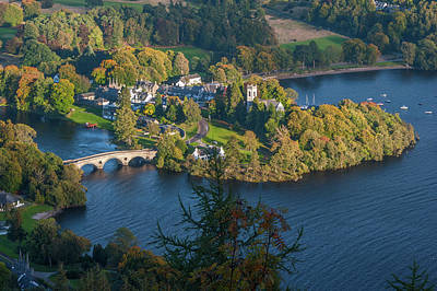 Kenmore And Loch Tay Art Print by David Ross