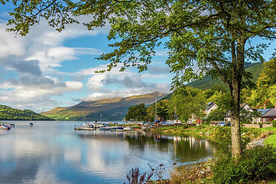 Kenmore And Loch Tay, Perthshire Art Print by David Ross