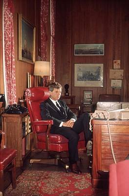 General Photograph - Kennedy In Office by Hulton Archive