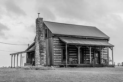 Photograph - Kentucky Farm House  by John McGraw