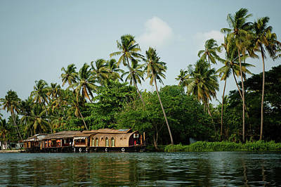 Kerala Photograph - Kerala Backwaters by Ania Blazejewska
