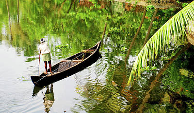 Kerala Photograph - Kerala Backwaters by Gopan G Nair