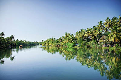 Kerala Photograph - Kerala Backwaters, India by Michele Falzone