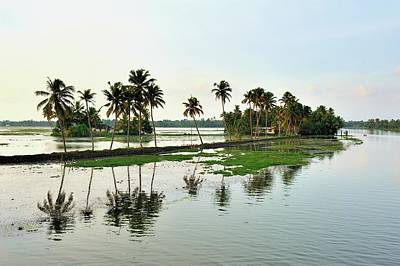 Kerala Photograph - Kerala Backwaters by Jerry Dohnal