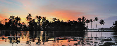 Kerala Photograph - Kerala Sunset by Jerry Dohnal
