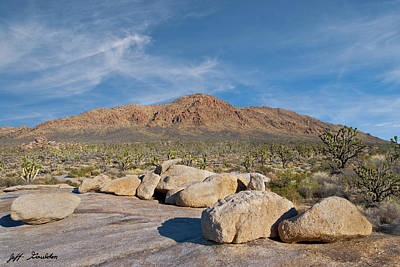 Photograph - Kessler Peak In The Mojave Desert by Jeff Goulden