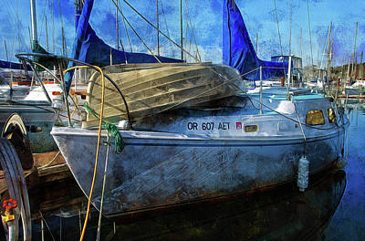 Photograph - Ketch by Thom Zehrfeld