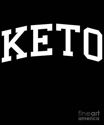 Digital Art - Keto University by Flippin Sweet Gear