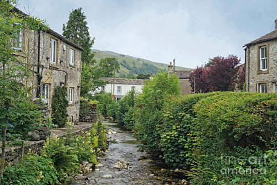 Photograph - Kettlewell Village, North Yorkshire, England. by David Birchall