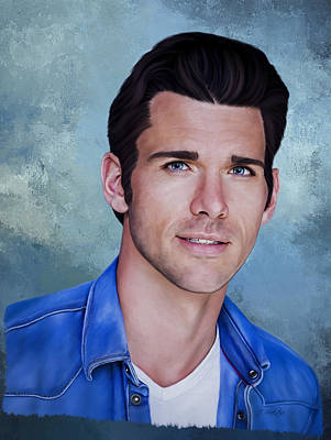 Painting - Kevin Mcgarry - Portrait by Jordan Blackstone
