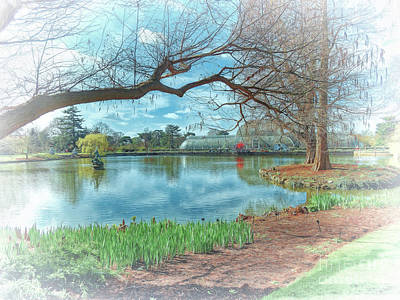 Photograph - Kew Gardens by Leigh Kemp