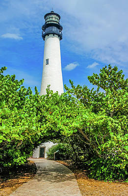 Photograph - Key Biscayne Lighthouse 2 by Dawn Richards