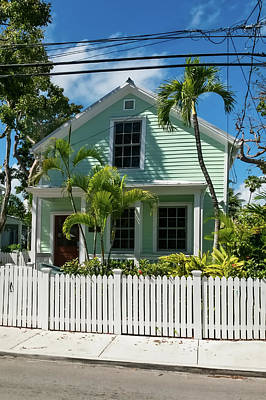 Photograph - Key West Conch House by Kay Brewer