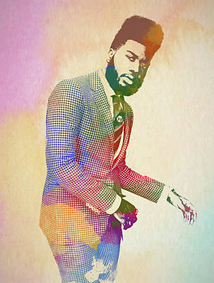 Painting - Khalid by Dan Sproul