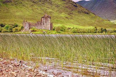 Photograph - Kilchurn Castle On Loch Awe - Scotland - Argyll And Bute by Jason Politte
