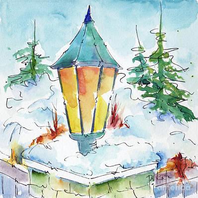Painting - Kimberley Lantern by Pat Katz