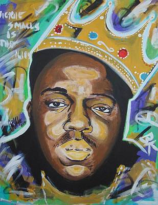 Painting - King Christopher by Antonio Moore