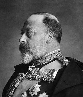 King Edward Vii Art Print by General Photographic Agency