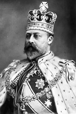 King Edward Vii Art Print by Hulton Archive