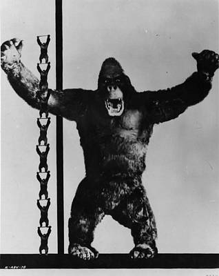 King Kong Art Print by General Photographic Agency