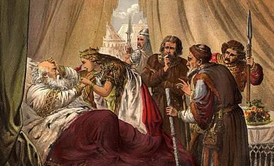 King Lear Art Print by Hulton Archive