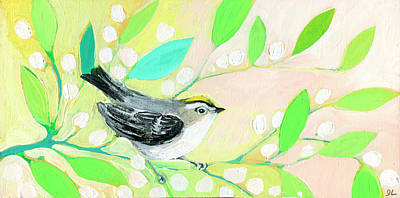 Animals Paintings - King of Spring by Jennifer Lommers