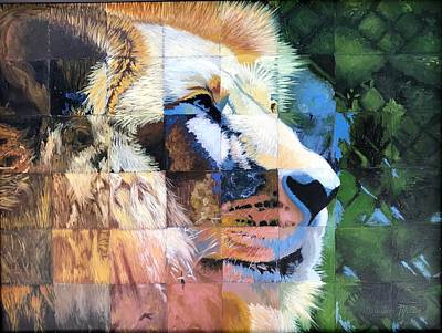 Painting - King Of The Beasts by Dustin Miller