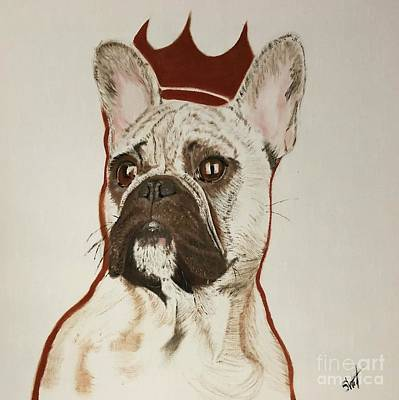 Painting - King Pup by Stephon Wright