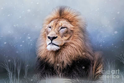 Digital Art - King Winter by Ed Taylor