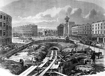 Kings Cross Station Art Print by Hulton Archive