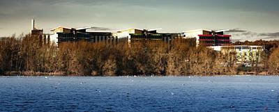 Photograph - Kings Mill Hospital Nottinghamshire Landscape by Scott Lyons