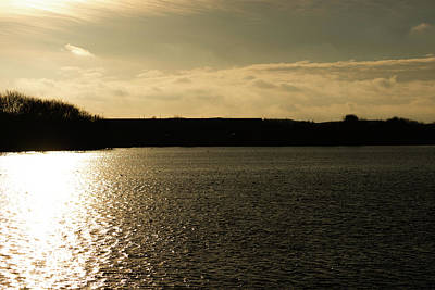 Photograph - Kings Mill Reservoir Sunset by Scott Lyons