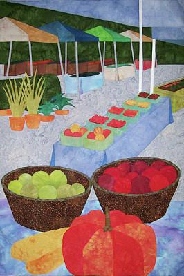 Kings Yard Farmers Market Art Print
