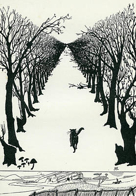 Drawing - The Cat That Walked By Himself by Rudyard Kipling