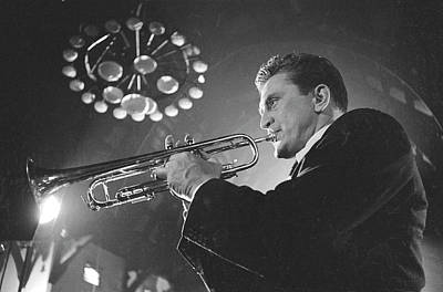 Photograph - Kirk Douglas In Young Man With A Horn by Alfred Eisenstaedt