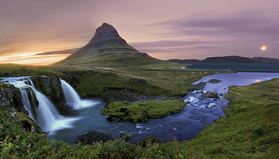 Photograph - Kirkjufell Panorama by © Christopher Waddell