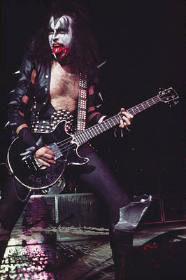 Photograph - Kiss In Concert by Steve Morley