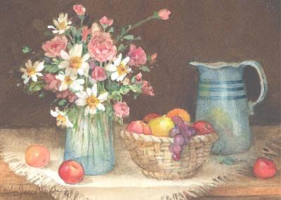 Wall Art - Painting - Kitchen Harmony by Carolyn Shores Wright