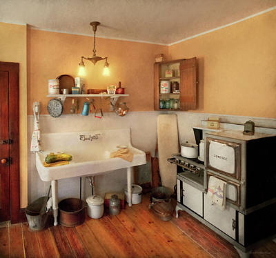 Photograph - Kitchen - The Whole Kitchen And Caboodle by Mike Savad