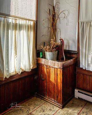 Photograph - Kitchen Water Pump by Jim Thompson