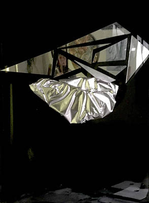 Joan Raspo Wall Art - Mixed Media - Kite Runner by Joan Raspo