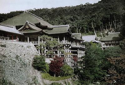 Photograph - Kiyomizu-dera Temple by Spencer Arnold Collection
